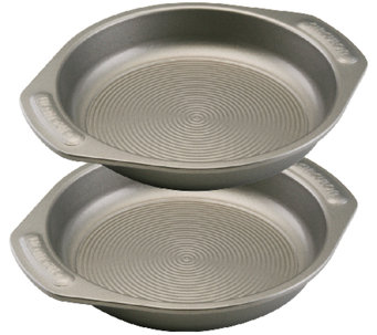 "Circulon Nonstick Bakeware Two-Piece 9"" Round Cake Set - K304668"