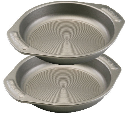 "Circulon Nonstick Bakeware Two-Piece 9"" Round Cake Set"