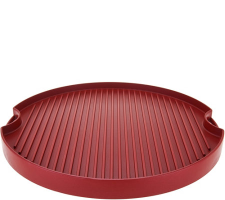 """As Is"" Cook's Essentials 15"" Reversible Round BBQ Grill & Griddle"