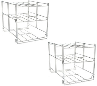 Set of 2 Nifty 3-tier Oven Companion and Rack System - K43168