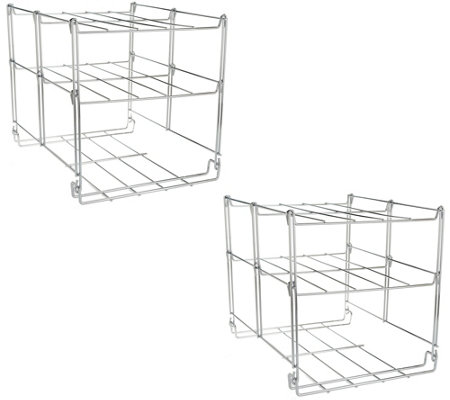 Set of 2 Nifty 3-tier Oven Companion and Rack System