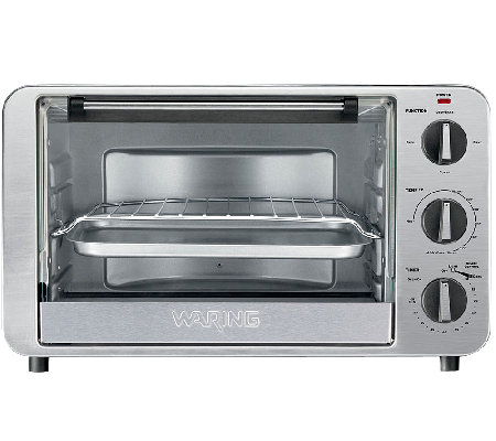 Waring Pro 0.6 Cu Ft 1500W Convection Toaster Oven