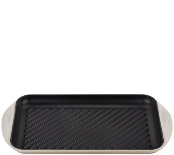 Le Creuset Cast-Iron Extra-Large Double BurnerGrill - K305069