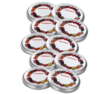 Leifheit All-in-One Screw Top Canning Lids - Set of 10 - K305469