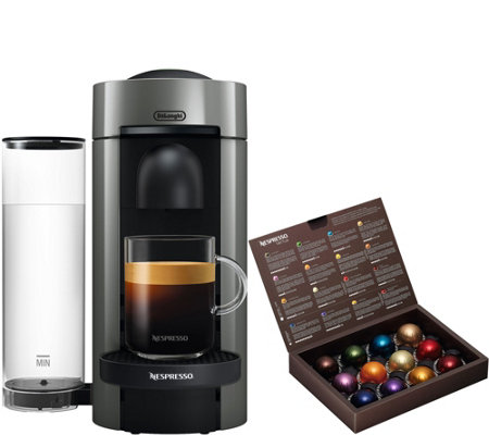 Nespresso Vertuo Plus Coffee & Espresso Machine by DeLonghi