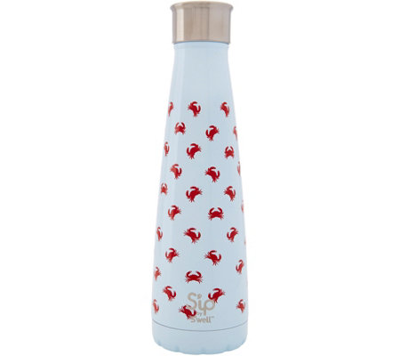 S'ip by S'well 15-oz Stainless Steel Water Bottle - Crab Walk
