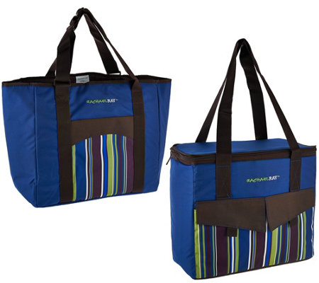Rachael Ray Set of 2 Deluxe Chillout 2 Go Totes