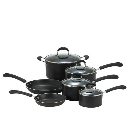 T-Fal 10-Piece Nonstick Cookware Set