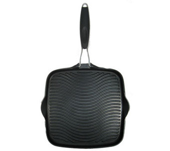 "Starfrit 11"" Grill Pan with Foldable Handle - K131970"