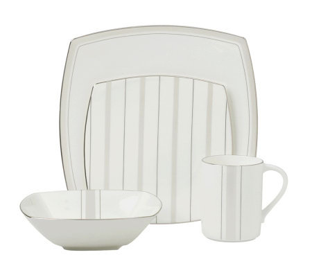 Mikasa Platinum Matrix 4-Piece Place Setting