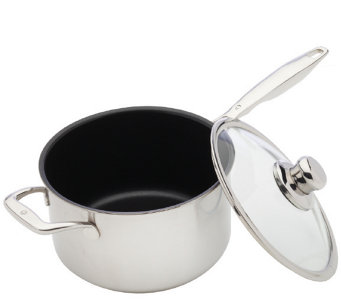 Swiss Diamond Prestige Clad 3.6-Qt Saucepan with Lid - K305870