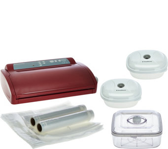 FoodSaver Vertical Flip 3-speed Vacuum Sealer w/ Accessories - K43470