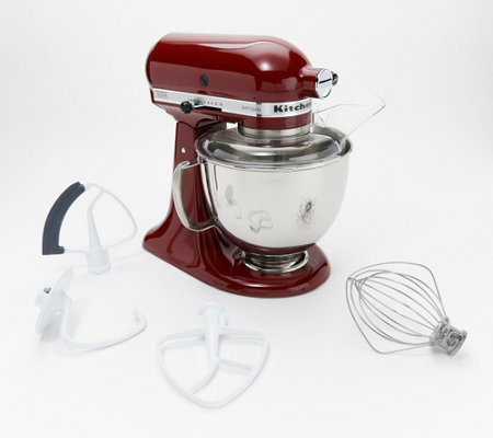 KitchenAid 5-qt 325W Tilt Head Stand Mixer with Flex Edge