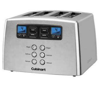 Cuisinart Touch to Toast Leverless 4-Slice Toaster - K300071