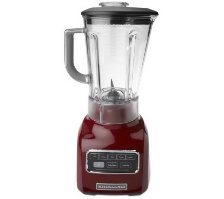 KitchenAid 56 oz. 5 Speed Blender with Lid & Ingredient Cap