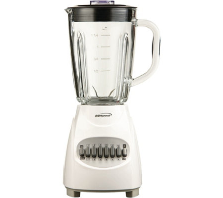 Brentwood 12-Speed Blender with Glass Jar