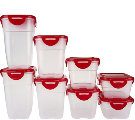 Lock & Lock 8 piece Nestable Storage Set