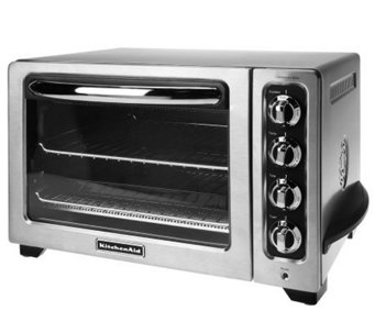 "KitchenAid 12"" Countertop Convection Oven w/Broil Pan & Crumb Tray - K34872"
