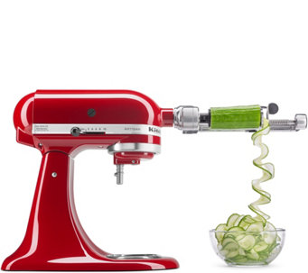 KitchenAid Spiralizer Attachment with Peel, Core & Slice - K43772