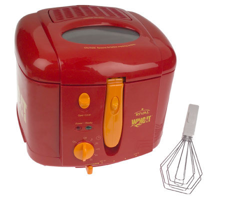 Rival Wing-It 1.5 Quart Cool Touch Deep Fryer