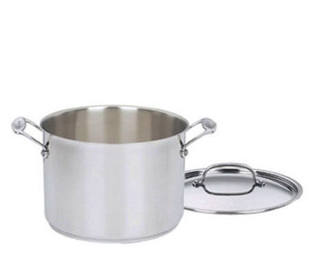 Cuisinart Chef's Classic Stainless 8-qt Stockpot with Lid - K129873