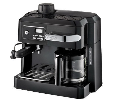 DeLonghi 3-in-1 Coffee Machine w/ ProgrammableTimer