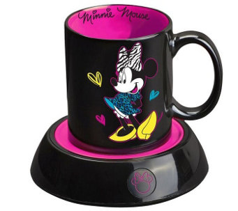 Disney Minnie Mouse Mug & Mug Warmer - K305173
