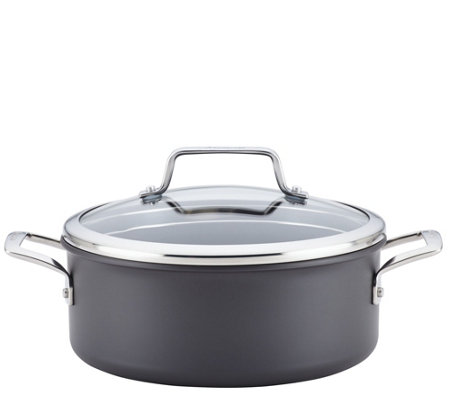 Anolon Authority Hard-Anodized 5-qt Covered Dutch Oven