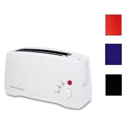 Kitchenaid Ktt460 Single Slot Two Slice Toaster Qvc Com