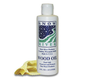 8-oz Food Safe Mineral Oil for Wood Cutting Boards - K129974