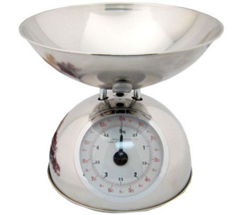 Starfrit Analog Kitchen Scale w/ Stainless Steel Bowl - K131974