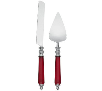 Lenox Dessert Server and Cake Knife - K304374