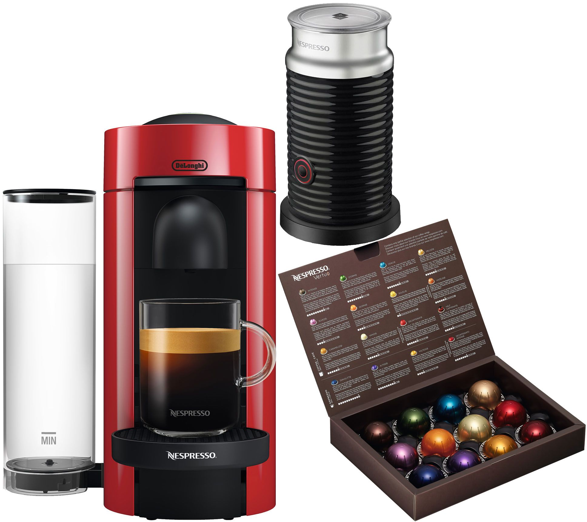 Delonghi Coffee Maker Not Brewing : Nespresso Vertuo Plus Coffee Machine with Frother by DeLonghi ? QVC.com