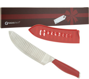 """As Is"" Groovetech 7"" Luna Knife - K307675"