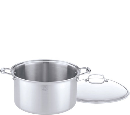 Hammer Stahl Stainless Steel Clad 16-qt CoveredStock Pot