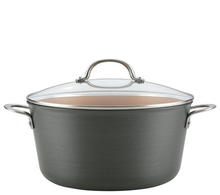 Ayesha Curry 10-qt Hard-Anodized Aluminum Stock pot