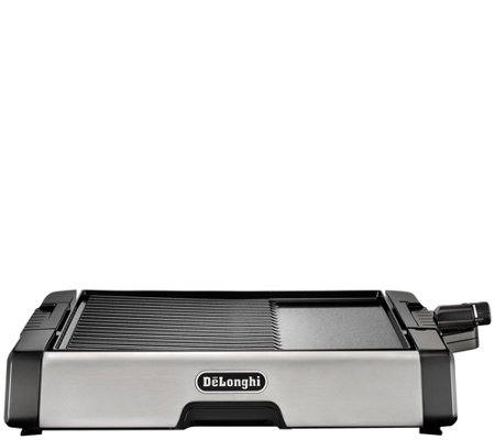DeLonghi Indoor 2-in-1 Nonstick Ceramic-CoatedGrill & Griddle