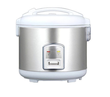 Oyama 7-Cup Stainless Steel Rice Cooker/Warmer/Steamer