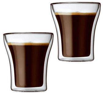 Bodum Assam Set of 2 Double Wall Tumbler Glasses - K297676