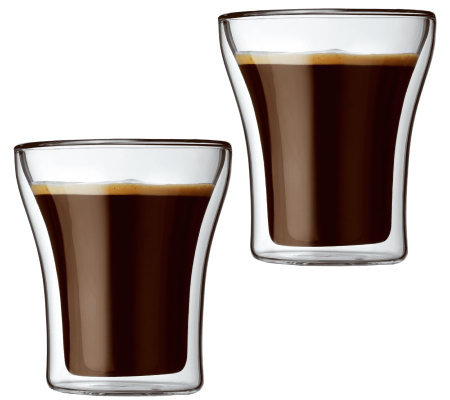 Bodum Assam Set of 2 Double Wall Tumbler Glasses