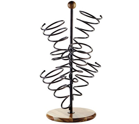 Gourmet Basics by Mikasa Spiral 6-Bottle Wine Rack