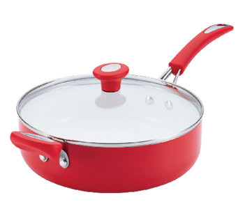 SilverStone Ceramic CXi Nonstick 4-qt Covered Saute Pan - K304177