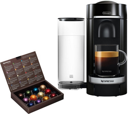 Nespresso Vertuo Plus Deluxe Coffee Machine by DeLonghi