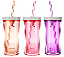 Contigo Shake & Go Set of 3 16oz. Tumblers - K43377