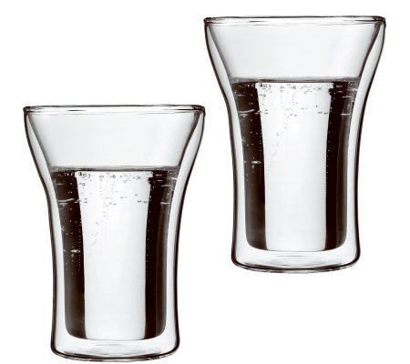 Bodum Assam Set of 2 Double Wall Highball Glasses