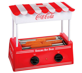 Nostalgia Electrics Coca-Cola Series Hot Dog Roller - K300978