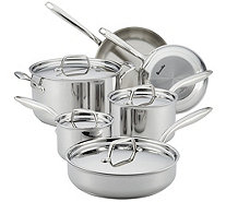 Breville Thermal Pro Clad Stainless Steel 10 PcCookware Set - K306178