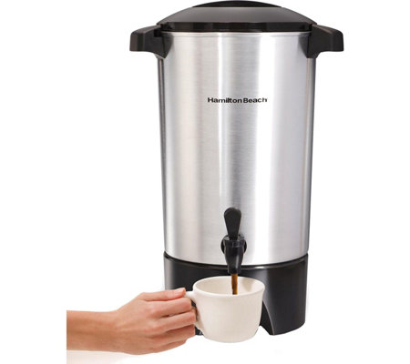 Hamilton Beach 42-Cup Coffee Urn with Ready-to-Serve Light