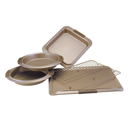 Anolon Bronze Collection Bakeware 5-Piece Set
