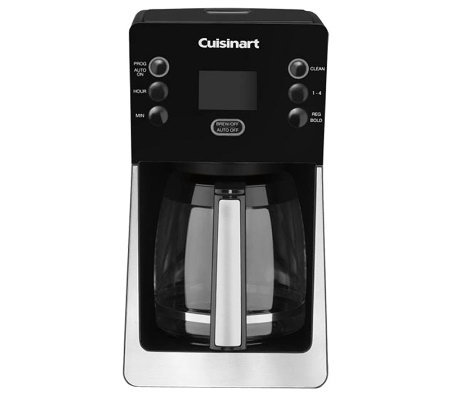 Cuisinart PerfecTemp Programmable Coffee Makerw/ Glass Carafe